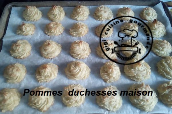 Recette Pommes duchesse