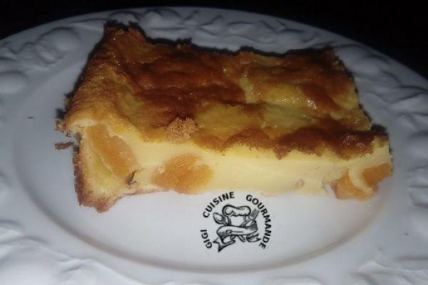 Recette far breton avec 1 oeuf d'OIE et abricots secs