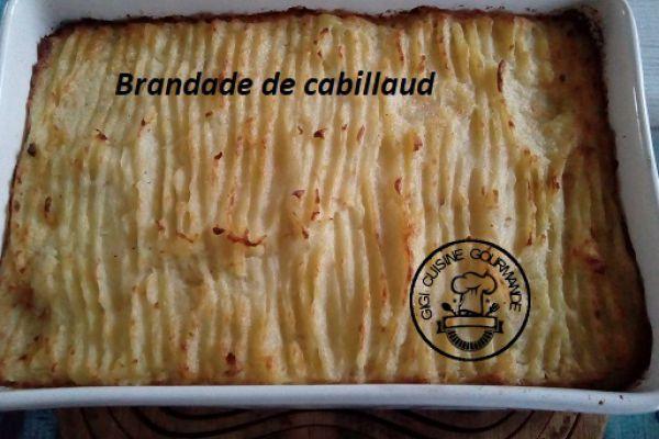 BRANDADE DE CABILLAUD (cookéo)