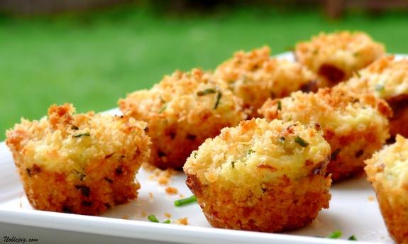 Recette Mise en bouche froide -- Mini cake au crabe