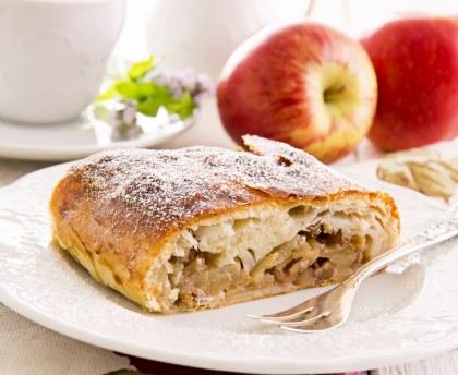 Recette L'Alsace - Strüdel aux pommes et aux noix
