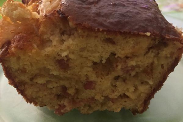Recette cake lardons et maroilles