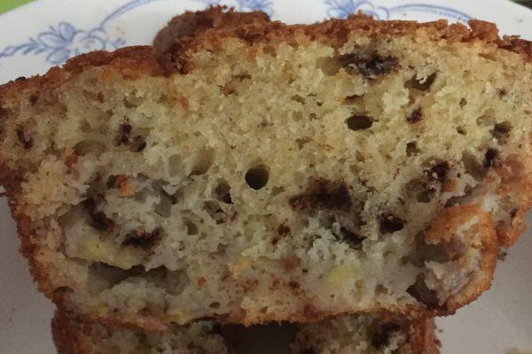 Recette cake banane et chocolat