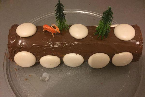 Recette Bûche de Noël au nutella