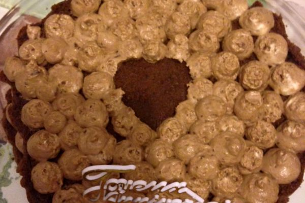 Recette gâteau choco-mousse à la noisette