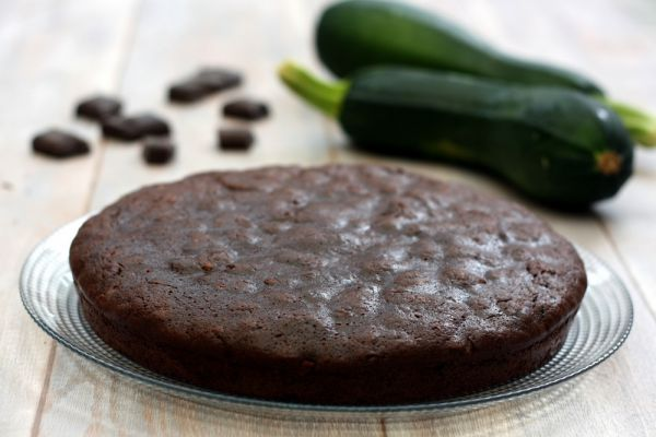 Recette Gâteau  chocolat courgettes