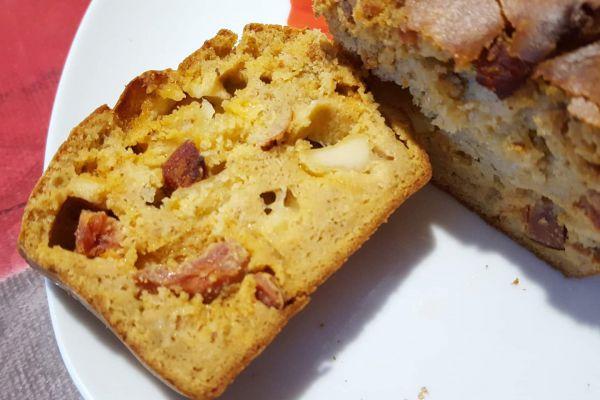 Recette Cake au chorizo energy diet tex mex