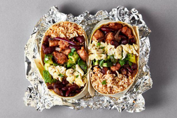 Recette Burrito du Petit Déjeuner à Congeler Pour Toute La Semaine