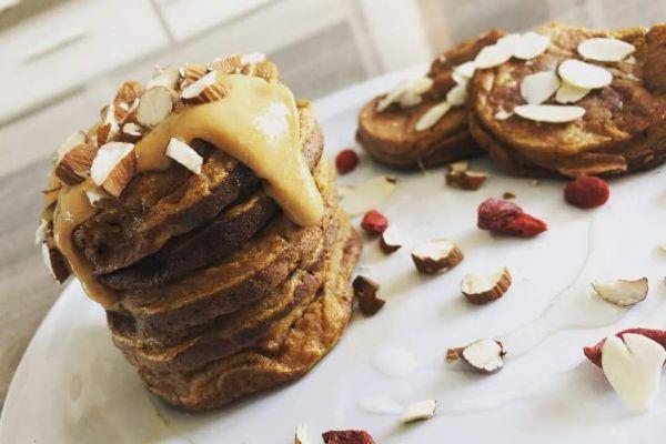 Recette Pancake de patate douce