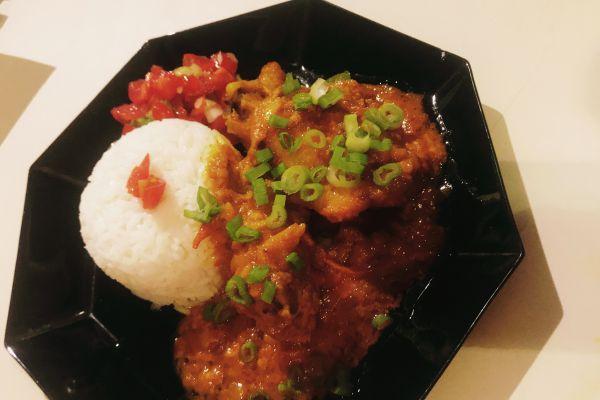 Recette Cari de poulet de La Réunion