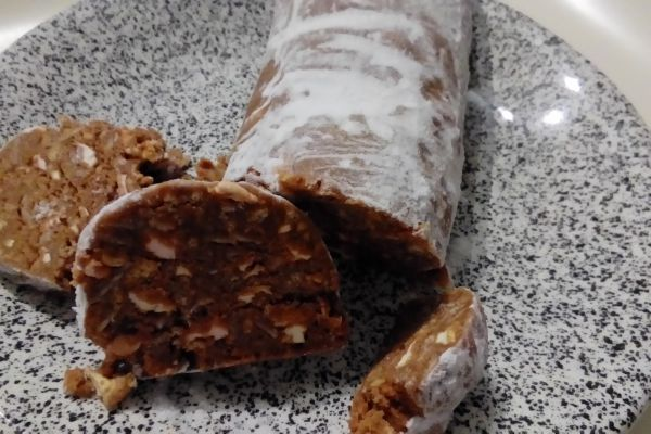 Recette Saucisson au chocolat au Thermomix TM5