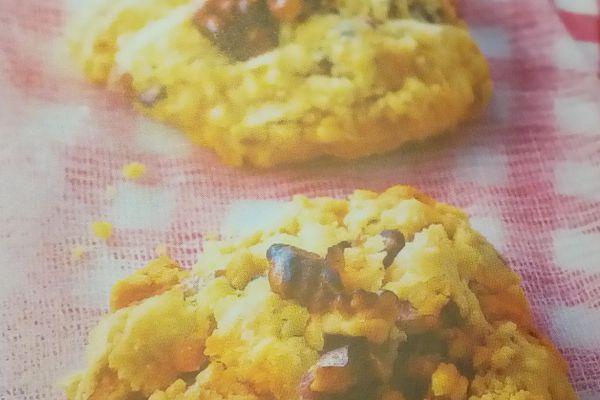 Recette Cookies au chorizo et aux noix  sans Thermomix