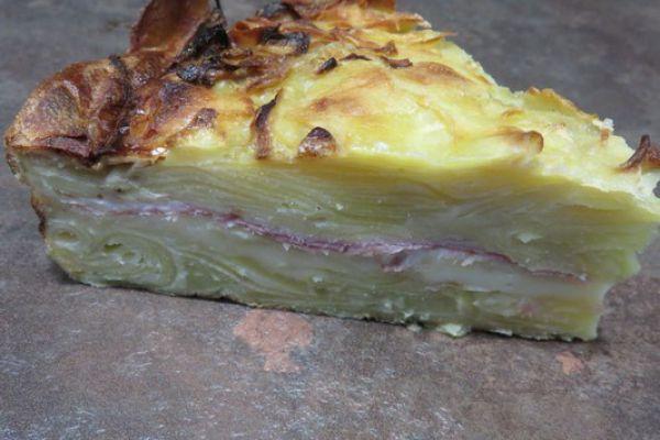 Recette gâteau de raclette