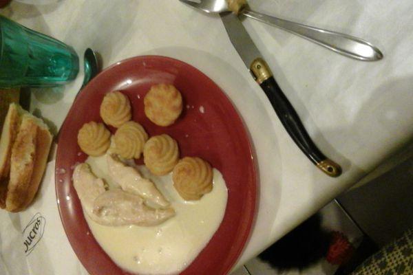 Recette Escalope de poulet au poivre timut