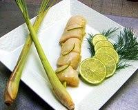 Recette brochettes de saint jacques à la citronnelle et gingembre