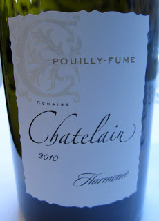 Pouilly-Fumé Hamonie 2010 - Domaine Chatelain