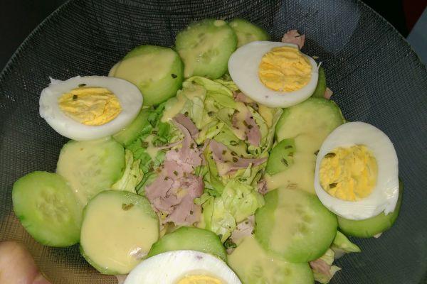 Recette  Une salade composée légère