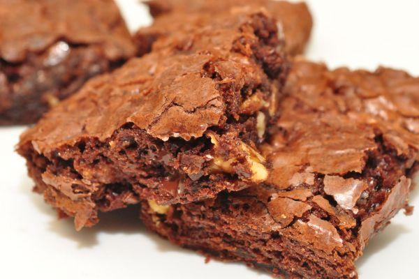 Brownies à la nougatine