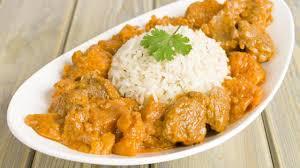 Recette Poulet au curry et oignons