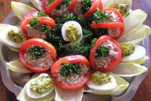 Recette tomate Monégasque