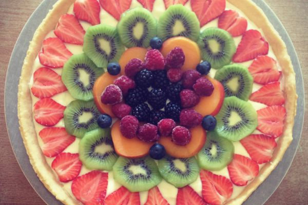 Recette tarte tutti-fruitti