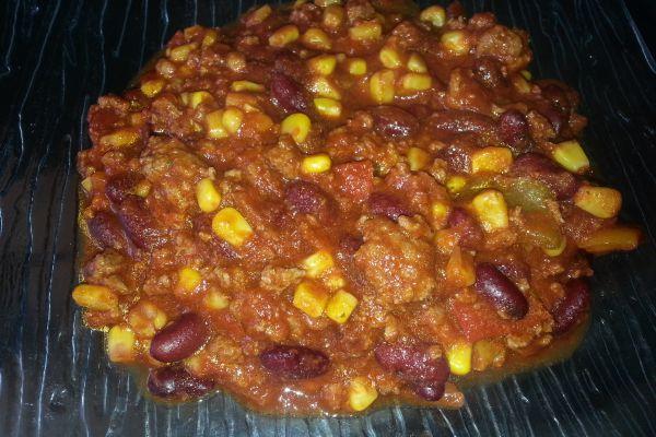 Recette Chili Corn Carne