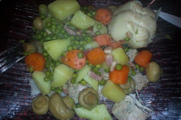 Recette Paupiettes de dinde et ses petits légumes