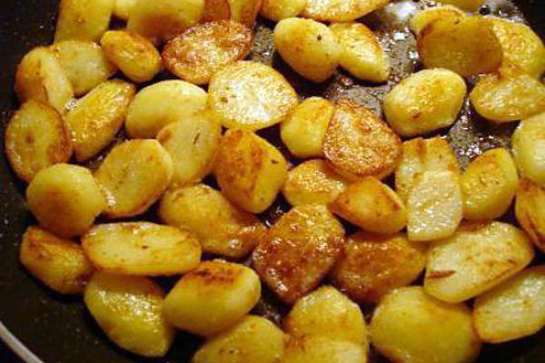 Recette Pommes de terre nouvelles sautées