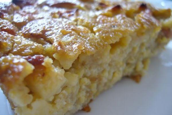 Recette Pudding pommes et raisins