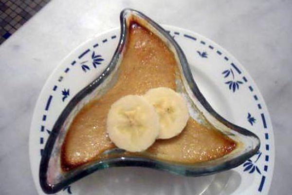 Crèmes à la banane