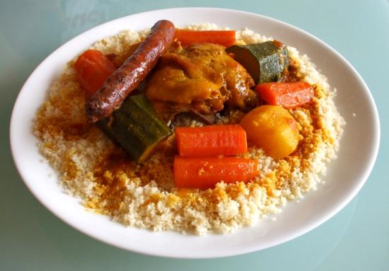 Recette Couscous poulet et merguez