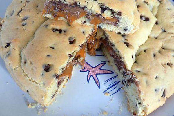 One pan cookie aux mars