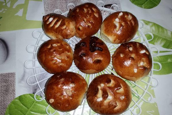 Recette Petit pain au lait fourré