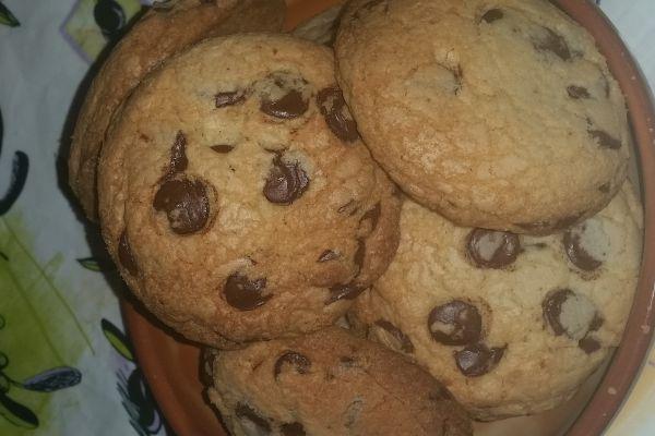 Cookies chocolat orange