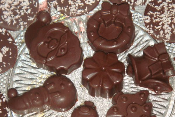 Recette Petits chocolats pour Noël