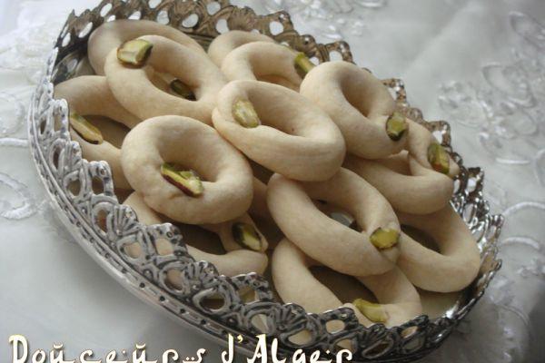 Recette Ghribiya libanaise aux pistaches
