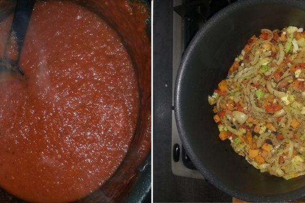 Recette sauce tomate aux légumes cachés