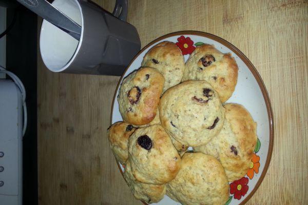 Recette cookies extra light et moelleux cranberries sans matière grasse
