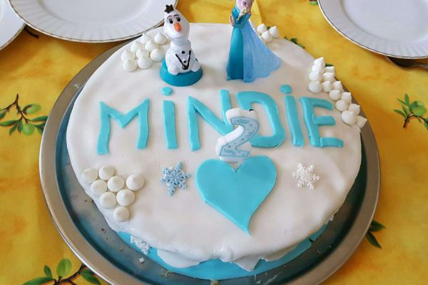 "Cake design ""Reine des Neiges"""