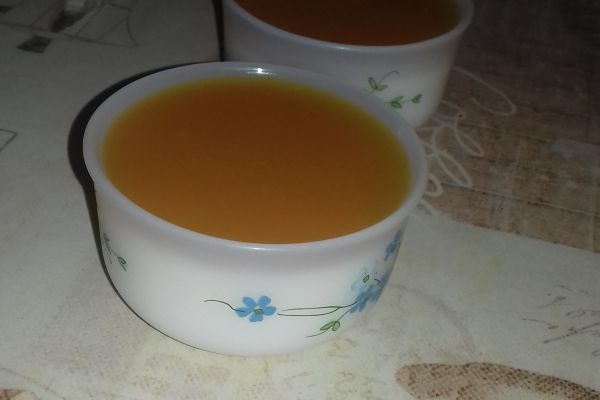 Recette Pana Cotta coulis mangue/passion