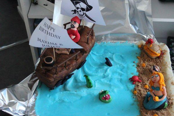 """Recette pirate cake 2 """" à l'abordage"""""""