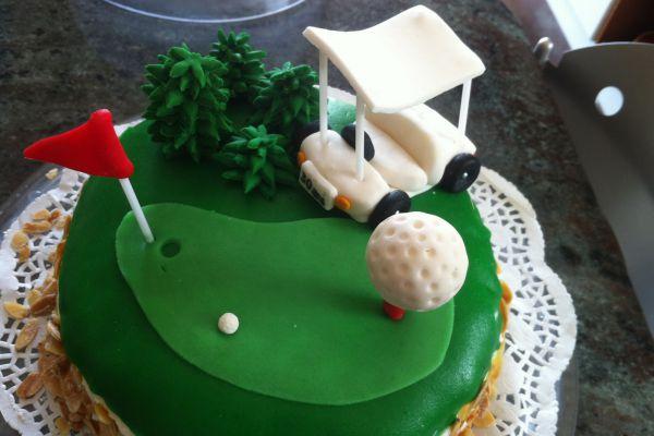 Recette Golf Cake (framboisier)