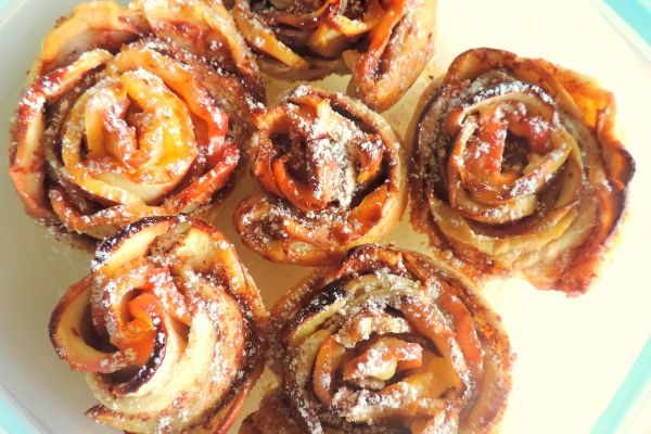 Recette Apple roses
