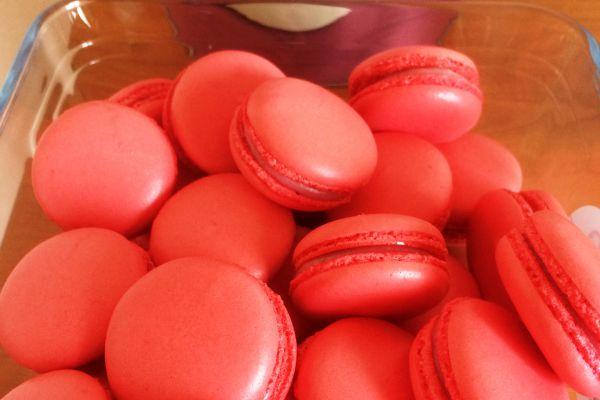 Recette Macaron fraise