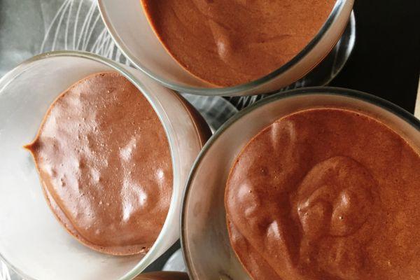 Recette Mousse chocolat noir