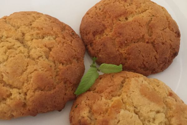 Cookies abricot menthe