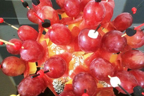 Recette Brochette raisin