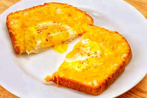 TOAST OEUF FROMAGE
