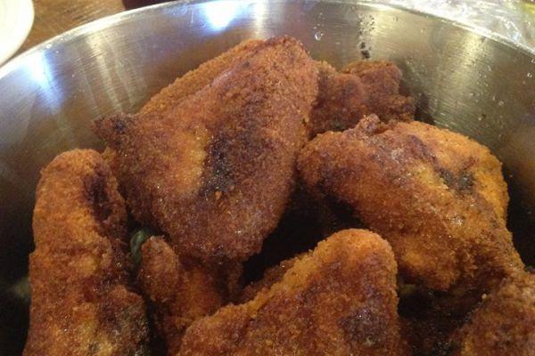 Recette Ailes de poulets panees