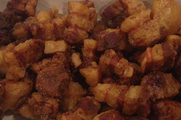 Recette Grattons de porc